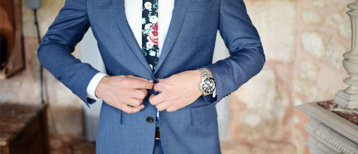 Moška poročna obleka