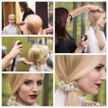 Model: Ajda Sitar, Foto: Domen Blenkuš, Frizura: Danica Žibert, Frizerski salon Lasek Domžale