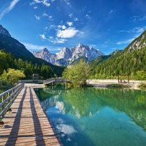 Jezero Jasna, foto: Tomo Jeseničnik