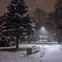 Mestni park pozimi Slovenia Slovenija Maribor Pohorje, foto: Uros Leva
