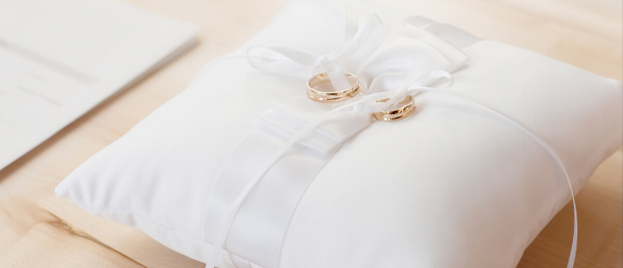 Poročna blazinica
