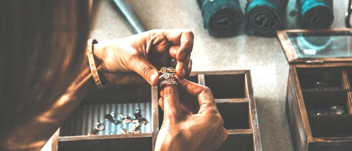 Popravilo prstana